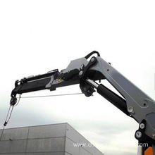 Good Quality for Small Pillar Jib Crane Boat Ship electric offshore crane export to China Macau Supplier