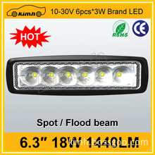 High quality 1440LM 18W led working light car accessories