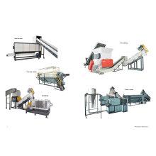 Пленка PP PE Рециркулируя машину для гранулирования пластмассы Wastic стиральная