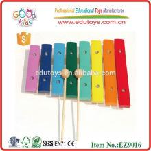 Деревянный красочный детский музыкальный ксилофон