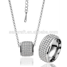 2014 WHOLESALE FASHION AFRICAN COSTUME JEWELRY SET, CHARM AND SHINY SILVER JEWELRY SET DESIGN FOR MEN
