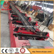 h beam welding machine trailer chassis seam welding machine