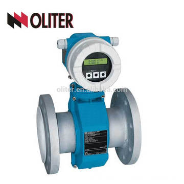 flange can be European standard high accuracy electromagnetic flow meter water