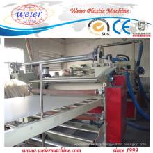 Chaîne de production automatique élevée d'extrusion de 80/156 80/173 pour le panneau libre d'affiche de mousse de PVC