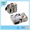 3 en 1 Baby Pañal Bag Cama Nappy Infantil Carry Cot Portable Cambio de mesa Portacrib Boy Girl Best