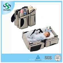3 en 1 sac à couches pour bébés Bed Nappy Infant Carry Cot Portable Table de changement Portacrib Boy Girl Best