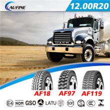 Fabricação de pneus, pneus de caminhão pesado (12.00 R20)