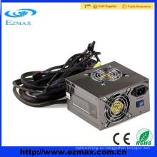Hotselling 80 plus Ventilador doble 500W ATX fuente de alimentación de la computadora PSU Fuente de alimentación de conmutación utilizada para la computadora estándar y del juego