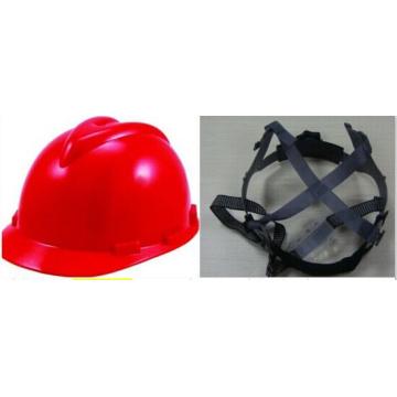 Casco de trabajo rojo para cosas de construcción