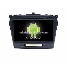 Usine directement! Android 4.4 lecteur dvd de voiture pour nouveau Vitara + OEM + quad core!