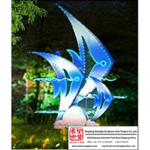 Beautiful Fish Light Sculpture