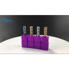 Vollhartmetall 6-Flöten-Fräser-Schlichtwerkzeug
