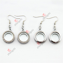 20mm Zinc Alloy Metal Roundets Lockets Boucles d'oreilles Bijoux (MRL50925)