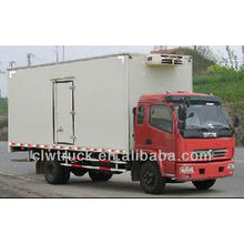 De alta calidad 6-8 Toneladas furgoneta refrigerada Dongfeng para la venta en Ruanda