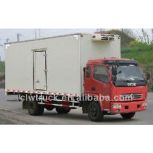 High quality 6-8 Tons Dongfeng refrigerated van for sale in Rwanda