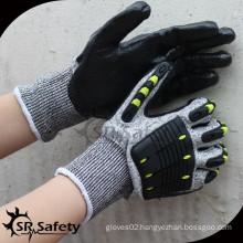 SRSAFETY cut level 5 anti-impact mechanic hand protection glove
