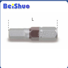 Screw Drive Hexagonal Bits Hand Tool with Good Quality Factory