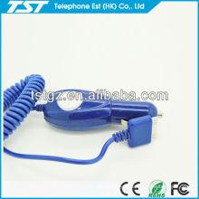Fabricant de chargeur de voiture avec câble pour iphone4