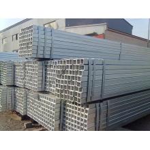 Tubería de acero cuadrada galvanizada de garantía comercial de alta calidad