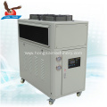 hydraulic oil cooling system oil water  chiller