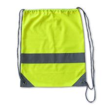 Lindgrün Werbe Reflektierende Strap Drawstring Taschen