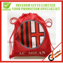 Promotional Customized Football Fan Drawstring Bag