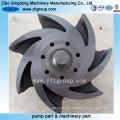 Cera perdida fundição/fundição de rotor Durco