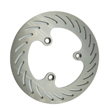 Custom titanium motorbike modification parts, cnc machining motorcycle brake disc rotors
