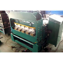 Kundenspezifische dicke metall stahl kurve dachspanne rollenformmaschine