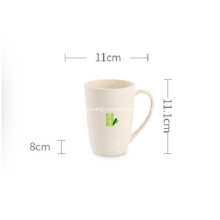 Bamboo Fiber Plastic Cup for Water Coffee