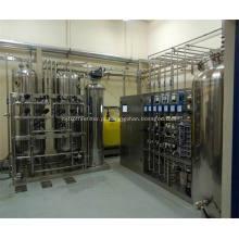 Sistema de água de alta pureza biológica