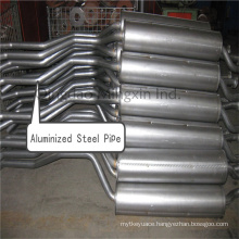 Aluminized Steel Pipe Dx53D/SA1d with Aluminum Coating 120g for Exhaust Automobile Pipes