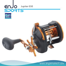 Angler Select Jupiter Strong Graphite 3 + 1 Bearing Sea Fishing Trolling Boat Reel Fishing Tackle (Jupiter 030)