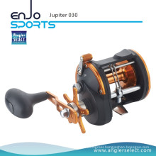 Angler Select Jupiter Strong Graphite 3+1 Bearing Sea Fishing Trolling Boat Reel Fishing Tackle (Jupiter 030)