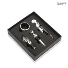 Kit de Abridor de Vinho Wine Tools Gift Box 5 Set