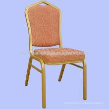 Блестящий Золотой Алюминиевый стул мебели (МК-ZL22-06)