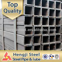 Black Rectangular Square tube Hollow Section made in Tianjin