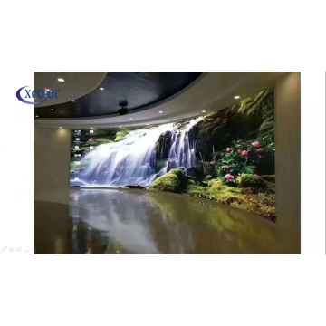 Video wall a LED curvi per interni ad alta definizione