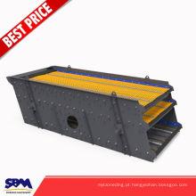 Aplicação da pedreira 3 camadas da máquina da peneira da rocha da planta da pedreira para a venda com capacidade 100-500 t / h