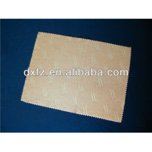 microfiber cleaning cloth with embossed logo
