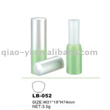 3.5g plastic lip balm tube for cosmetic packaging