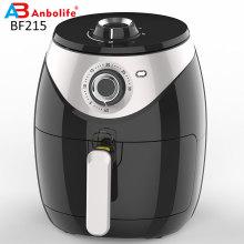 Newest Round Shape Manual Control Health Deep Air Fryer 2L 2.8L 3.5L 4L 5L 5.5L 6L with Rapid Air Circulation Air Fryer Oven
