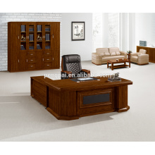 Antique L shape big executive office table