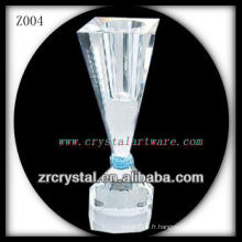 Bougeoir en cristal populaire Z004