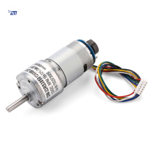 Motor de engrenagens de 33 mm 12v 60 rpm