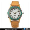 simple pu leather watch vintage, mens quartz watches japan movt