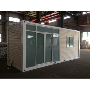 Fast byggnad Mobile Prefab Container Store