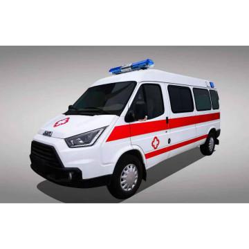 JMC ambulance with negative ballast