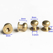 8мм Головные кнопки для шпилек ScrewBack Stud