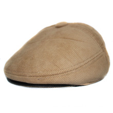 High Quality Corduroy Gatsby Cap/Golf Cap/Flat Cap/IVY Cap with Earflap